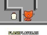 Игра Кошка с мороженым - играть бесплатно онлайн