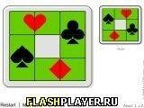 Игра Карточные пятнашки - играть бесплатно онлайн