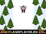 Игра Большой лыжный спуск - играть бесплатно онлайн