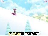 Игра Сноубордистка Бэтти - играть бесплатно онлайн