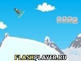 Игра Трюки на сноуборде - играть бесплатно онлайн