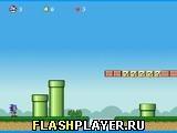 Игра Соник затерянный в мире Марио - играть бесплатно онлайн