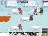Игра Пингвиний обед - играть бесплатно онлайн