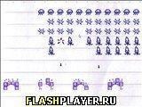 Игра Вторжение в блокноте - играть бесплатно онлайн