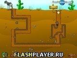 Игра Страус под землёй - играть бесплатно онлайн