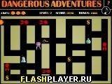 Игра Опасная авантюра - играть бесплатно онлайн