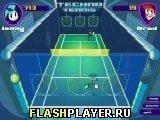 Игра Техно теннис - играть бесплатно онлайн