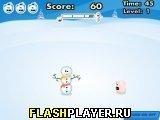 Игра Снежный человек сумоист - играть бесплатно онлайн
