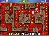 Игра Пакман 2005 - играть бесплатно онлайн