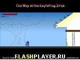 Игра Путь взрывающегося Стикмэна - играть бесплатно онлайн