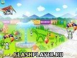 Игра Летающие щеночек - играть бесплатно онлайн
