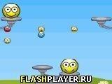 Игра Прыгающие смайлики - играть бесплатно онлайн