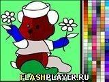 Игра Мишка с цветочками - играть бесплатно онлайн