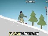 Игра Спуск на сноуборде - играть бесплатно онлайн