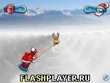 Игра Снежный раж Санты - играть бесплатно онлайн