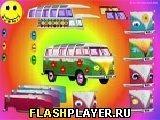 Игра Укрась хиппи-фургон - играть бесплатно онлайн