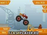Игра Сумасшедший грузовик - играть бесплатно онлайн