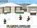 Игра Сноублиц: играем в снежки - играть бесплатно онлайн