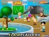 Игра Смешной зоопарк - играть бесплатно онлайн