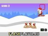 Игра Санта на сноуборде - играть бесплатно онлайн