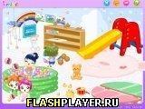 Игра Делаем детскую - играть бесплатно онлайн