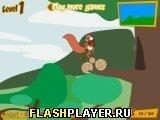 Игра Белка на самокате - играть бесплатно онлайн