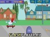 Игра Пафф на скейте - играть бесплатно онлайн