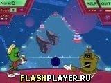 Игра Космический боулинг Марвина - играть бесплатно онлайн