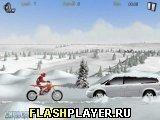 Игра Зимний гонщик - играть бесплатно онлайн