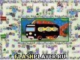 Игра Спанч Боб и поездка в автобусе - играть бесплатно онлайн