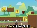 Игра Приключение ниндзя уток, играть бесплатно онлайн
