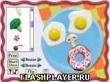 Игра Забавное лицо из еды, играть бесплатно онлайн (аркады)