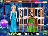 Игра Эльза спасает Анну, играть бесплатно онлайн (аркады)