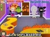Игра Малышка Хейзел – Замок Хэллоуина, играть бесплатно онлайн (аркады)