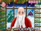 Игра Стрижки Санта-Клауса, играть бесплатно онлайн (аркады)
