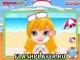 Игра Летний круиз маленькой Барби, играть бесплатно онлайн (аркады)