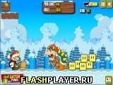 Игра Злой Марио-Санта, играть бесплатно онлайн (аркады)
