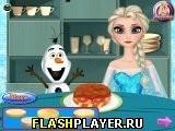 Игра Эльза готовит гамбургер, играть бесплатно онлайн (аркады)
