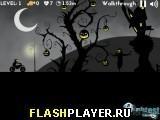 Игра Жуткий мотокросс на Хэллоуин, играть бесплатно онлайн (гонки)
