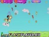 Игра Даша и единорог в стране сладостей, играть бесплатно онлайн (аркады)