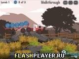 Игра 18 колёсная пожарная машина, играть бесплатно онлайн (гонки)
