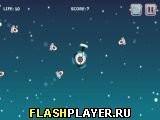 Игра Защитник космической базы, играть бесплатно онлайн (аркады)