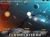 Игра Уничтожьте кометы, играть бесплатно онлайн (аркады)