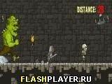 Игра Трусливый рыцарь, играть бесплатно онлайн (аркады)