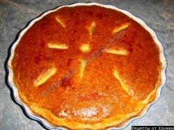 Дрожжевой пирог с капустой и мясом