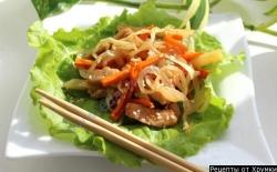 Кулинарный рецепт Китайский салат с фото