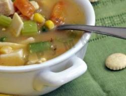 Кулинарный рецепт Домашняя лапша из кукурузной муки с фото
