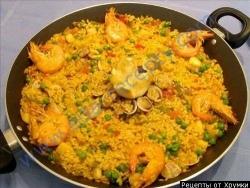 Кулинарный рецепт Испанская паэлья с фото