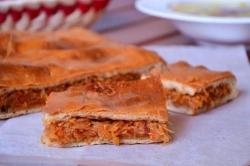 Кулинарный рецепт Пирог с квашенной капустой с фото