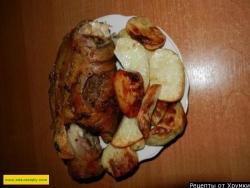 Свинина запеченная с картофелем